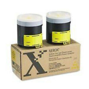 Xerox Docucolor 12 Oem Yellow Toner 2x New In Box