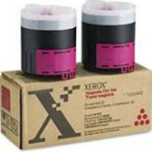 Xerox Docucolor 12 Magenta Oem Toner 2x New In Box