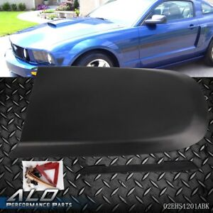 For 2005 2009 Ford Mustang Gt V8 Front Black Racing Style Air Vent Hood Scoop