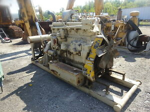 Caterpillar G342 Natural Gas Engine Power Unit D342 342 Cat