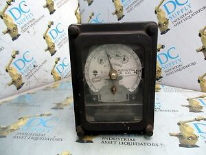 General Electric 700x64g301 Type Dsm 63 Kilowatt Hour Meter broken Glass 1