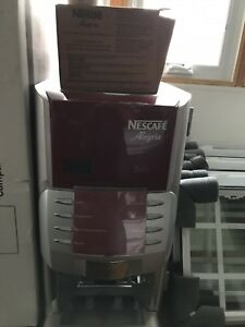 Nescafe Alegria 8 Cappuccino Hot Chocolate Coffee Commercial Machine