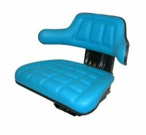 Blue Replacement Tractor Suspension Seat For Ford 9n 600 800 2000 3000 4000 5000