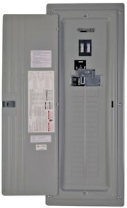 Reliance 200 amp Manual Transfer Switch Generator Panel Main Breaker Load Center