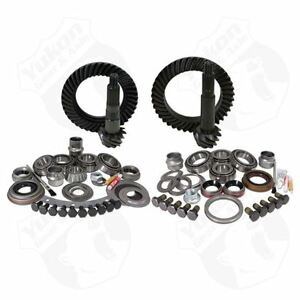 Yukon Gear Install Package For Jeep Tj W Dana 30 Front Model 35 Rear 4 88