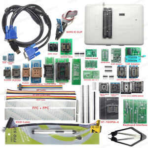 Rt809h Emmc nand Flash Programmer With Cables Emmc nand And Original Adapters