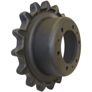 Prowler Bobcat T200 Sprocket Part Number 7165109 6 Hole 17 Tooth