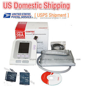 Digital Upper Blood Pressure Monitor Meters Sphygmomanometer infant child adult