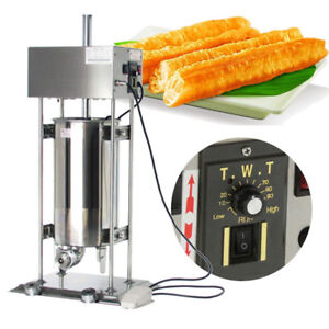 Eu us Plug 110v 15l Vertical Electric Spanish Donut Churro Baker Machine Maker