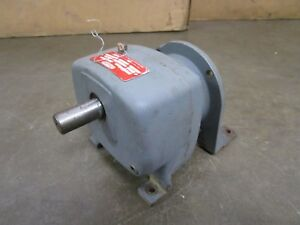 Dayton 2z935a Inline Gearbox Speed Reducer 19 1 Ratio Input 1725rpm Output 91rpm
