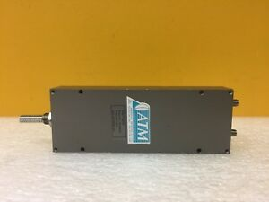 Atm P1507d Dc To 18 Ghz 60 Ghz Phase Adjust Wideband Phase Shifter Tested