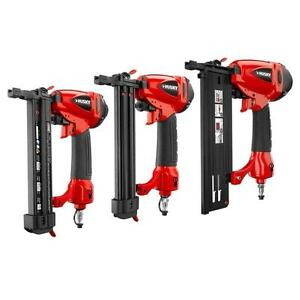 Husky 3-Piece Air Nailer and Stapler Kit