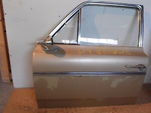 Oem 1964 Amc Rambler Sedan Front Driver Side Door W glass Free Ship Commercial