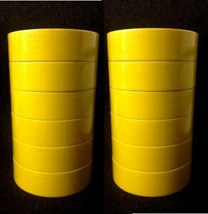 3m 6654 06654 Masking Tape 1 5 Yellow 12 Rolls