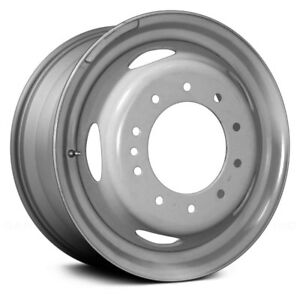 For Ford F 450 Super Duty 05 14 19x6 5 slot Gray Steel Factory Wheel Replica