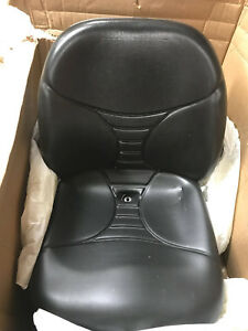 Milsco V5300 Black Vinyl And Mechanical Suspension Seat With Amrests And 11 25