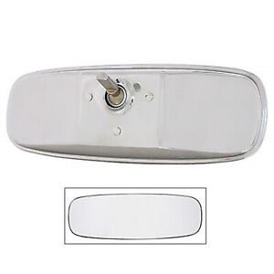 64 65 66 Ford Mustang Inside Chrome Glass Standard Rear View Mirror
