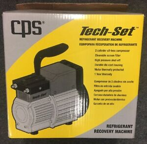 Cps tech set Refrigerant Recovery Machine Tr19