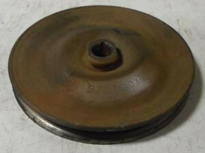1960 S Pontiac Vehicles Used Bolt On Power Steering Pump Pulley 9777610 Xe