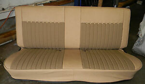 81 87 Chevy Gmc Truck Houndstooth Bench Seat Cover