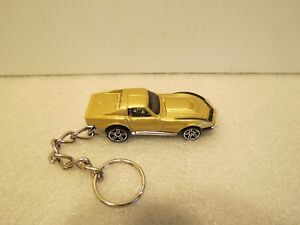 Rare Riverside Gold 1969 427 L 88 Zl 1 Chevrolet Corvette Key Chain Brand New