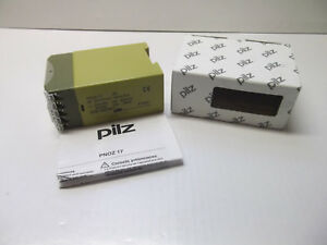 Pilz Pnoz 17 Safety Relay