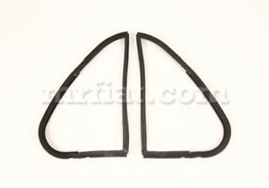 Fiat 1100 103 H Vent Window Gasket Set New