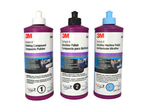 3m Perfect it Compound And Polish Kit 06064 06068 06085 05723 05725 05733