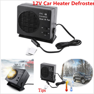 Dc 12v 300w Car Auto Van Fan Heater Heating Warmer Defroster Demister For Window