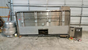 Avtec 112 Hood Vdd Cook Exhaust Fan 31 Curb Ansul System R 102 Wet Chemical
