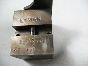 Lyman #323470 Double Cavity 8MM  Bullet Mold