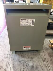 Ge Transformer 9t23b2671 25 Kva Primary 480 240 Sec 240 120 Single Phase