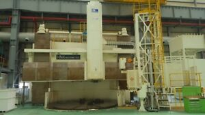 Hnk Korea Cnc Vertical Boring Mill New 2010
