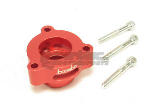Boomba Turbo Blow Off Valve Adapter Bov Red 15 18 Ford Mustang 2 3l Ecoboost New