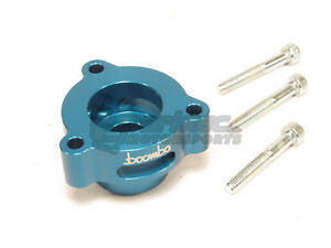 Boomba Turbo Blow Off Valve Adapter Bov Blue 15 18 Ford Mustang 2 3l Ecoboost