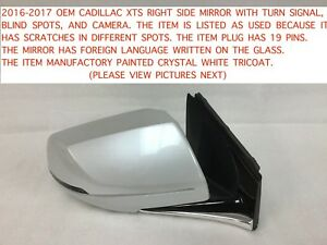 2016 2017 Cadillac Xts Right Side Mirror With Blind Spot 23472183