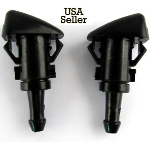 New 2 Windshield Washer Wiper Water Spray Nozzle For Chrysler 300 Us
