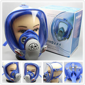 For 3m 6800 Gas Mask Full Face Facepiece Respirator Paint Spraying In Us Local