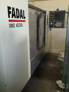 Fadal 4020a One Year Warranty On Parts And Labor