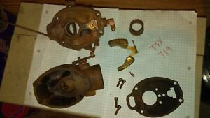 Marvel Schebler Tsx 719 Carburetor For Allis Chalmers B Harvester gleaner