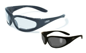 Global Vision Hercules 1 Bifocal Safety Glasses Clear Smoke Ansi Z87 1 2010