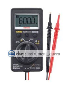 Digital Multimeters pocket Type True Rms Pocket Size Dmm Sanwa Pm300 New
