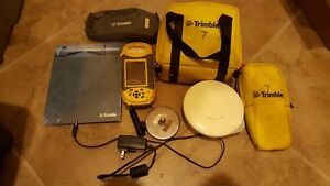 Trimble Geoxh Geoexplorer 2008 W Terrasync Software Hurricane L1 Cases