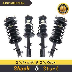 For 93 02 Toyota Corolla Complete Strut Shock Assembly Front Rear Left Right Set