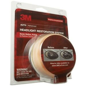 3m 39008 Headlight Lens Restoration System 4 pack
