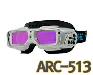 Servore Arc 513 Auto Shade Welding Goggles With Protective Face Shield silver