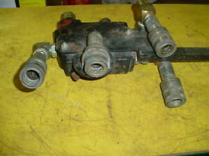 Hydraulic Block With Couplers For Loader Tractors And More