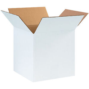 White Shipping Boxes Lc Many Sizes Available