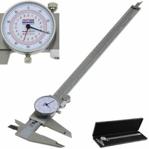 Dial Caliper 12 300mm Dual Reading Scale Metric Sae Standard Inch Mm Anytime