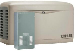14000 watt Standby Generator Air Cooled Natural Gas Automatic Transfer Switch